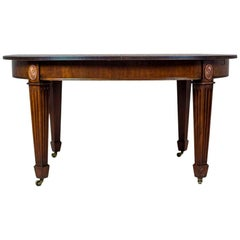 Dining Table with an Extendable Top from the Turn of the 19th and 20th Centuries