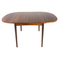Dining Table with Extension in Rosewood Designed by Arne Vodder from the 1960s