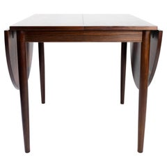 Dining Table with Extensions, in Rosewood Designed by Arne Vodder from the 1960s