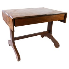 Dining Table with Extensions of Mahogany, 1860s