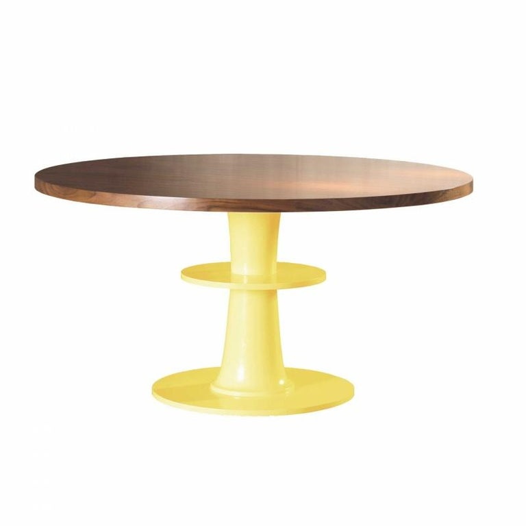 Modern Dinner Table Circule 120cm Ø For Sale