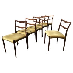 Dinning Chairs in Rosewood, Designer by H.W. Klein