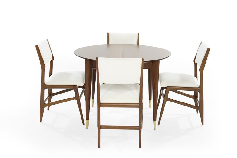 Italian Dining Room Set by Gio Ponti for M. Singer & Sons, circa 1950s For Sale