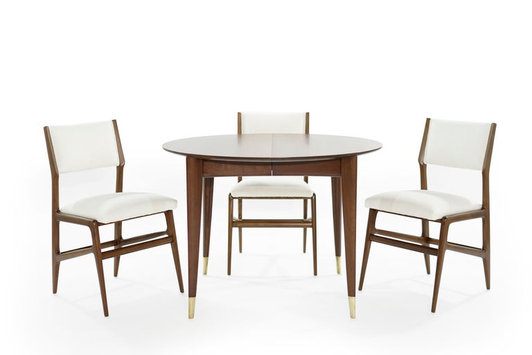 Dining Room Set by Gio Ponti for M. Singer & Sons, circa 1950s In Excellent Condition For Sale In Stamford, CT