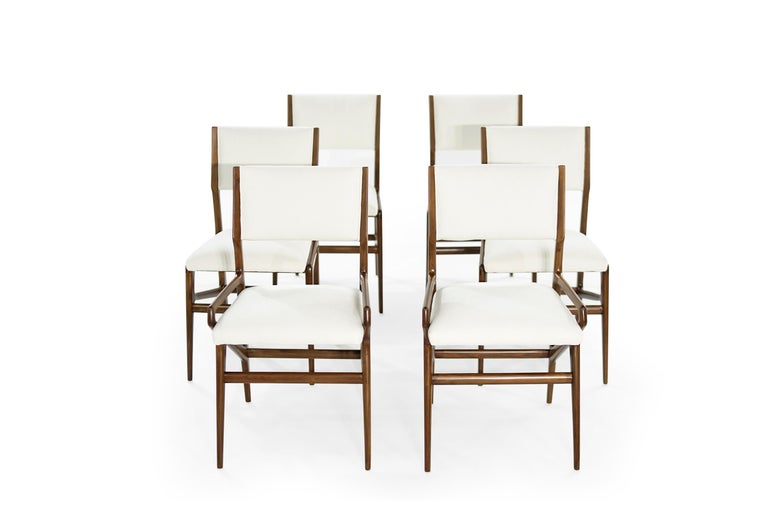 Dining Room Set by Gio Ponti for M. Singer & Sons, circa 1950s For Sale 2