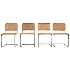 Dinning Style Chairs B32 by Marcel Breuer, Set of 4