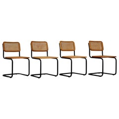 Dinning Style Chairs B32 by Marcel Breuer Set of 4