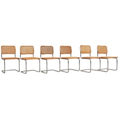 Dinning Style Chairs B32 by Marcel Breuer Set of 6