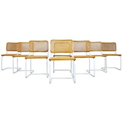 Dinning Style Chairs B32 by Marcel Breuer Set of 8
