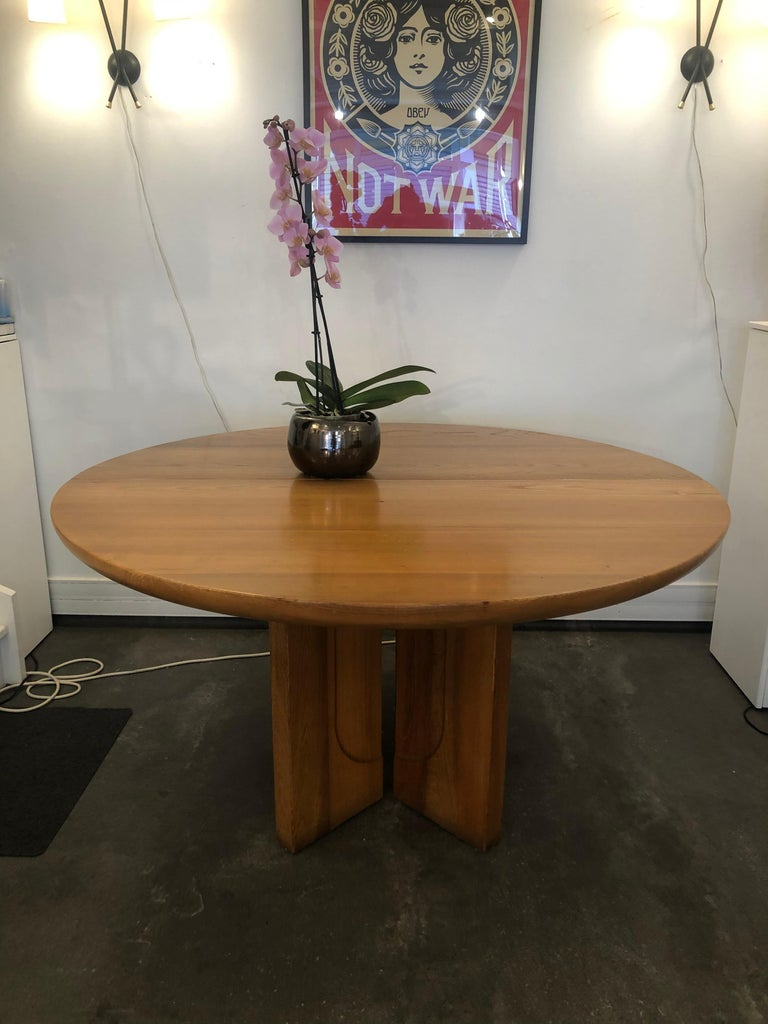 Mid-Century Modern Dining Table by Luigi Gorgoni, 1974 For Sale