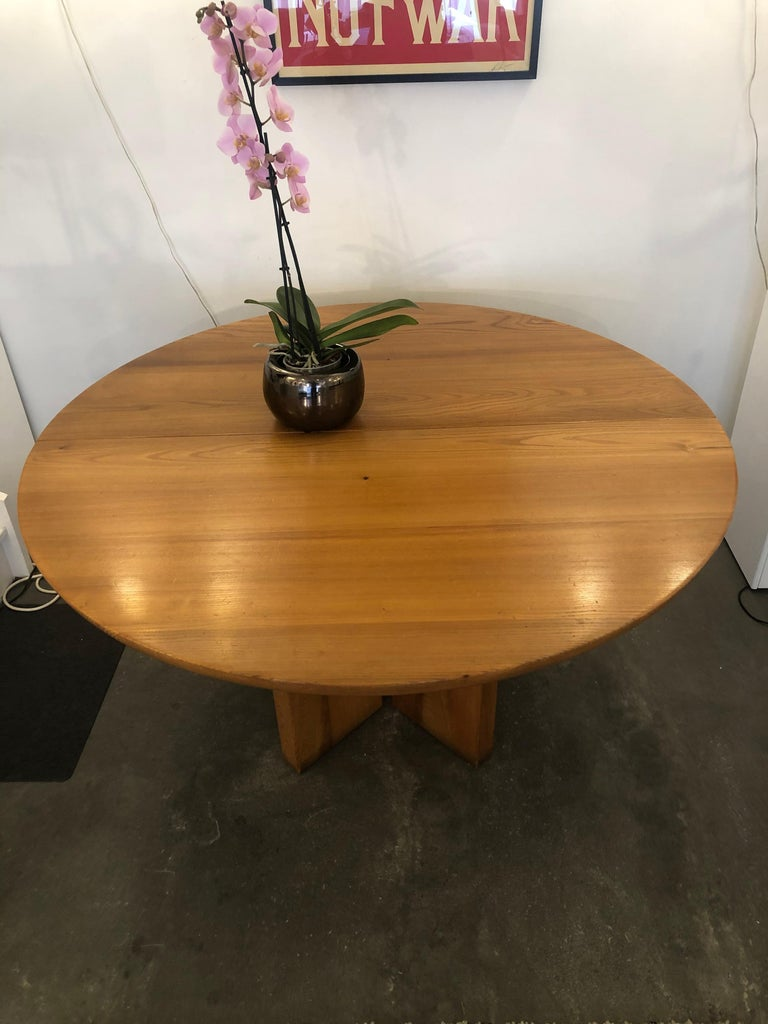 Dining Table by Luigi Gorgoni, 1974 In Good Condition For Sale In Saint-Ouen, FR