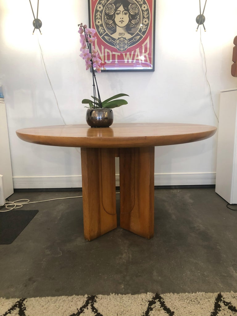 Dining Table by Luigi Gorgoni, 1974 For Sale 1