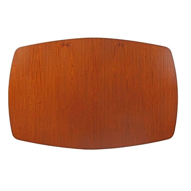 Mid-20th Century Dining Table Design by Finn Juhl Mfg. Baker Model #560 For Sale