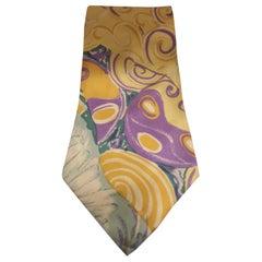 Dino Erre Multicoloured silk tie