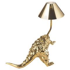 Dino Gold Lamp