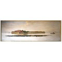 Dino Martens, 1958 Large Painting, Tessera Island Carlo Nason Estate, Art