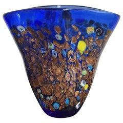 Dino Martens Vase Murano Glass Murrine 1950 Italy
