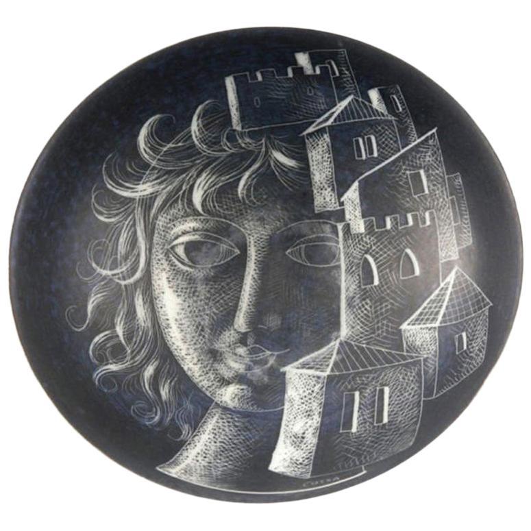Diodoro Cossa Italian Porcelain Bowl