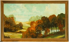 Dion Pears - Framed Mid 20th Century Oil, Autumnal Landscape