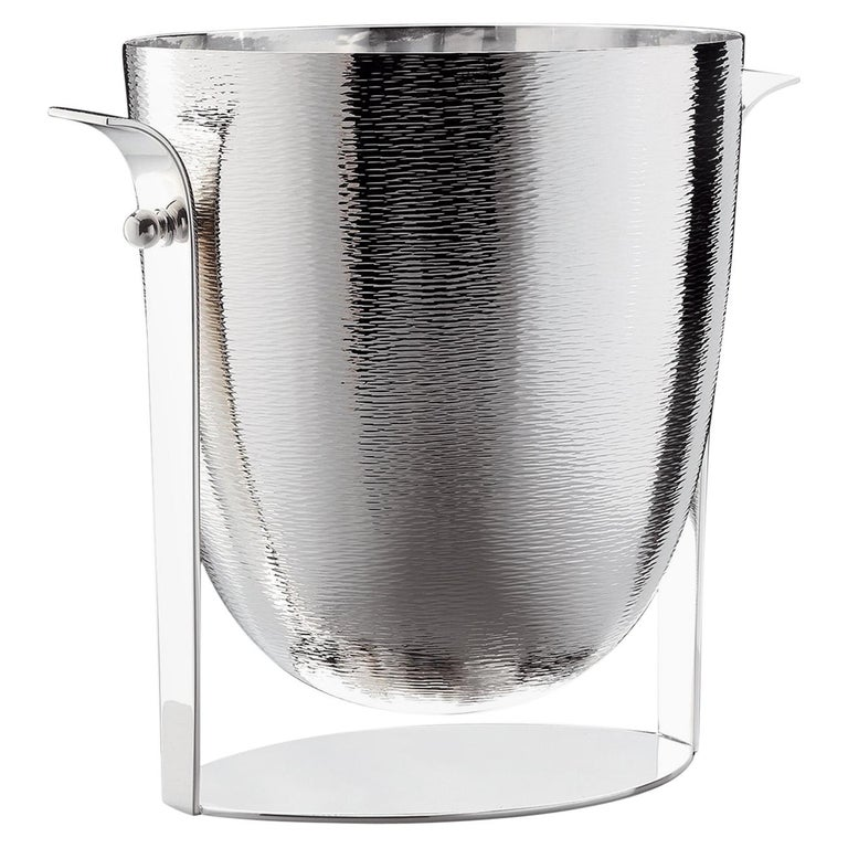 Dioniso Champagne Silver Bucket For Sale