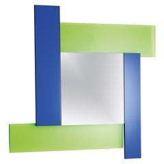 Dioniso2 Gli Specchi di Dioniso Wall Mirror, by Ettore Sottsass for Glas Italia