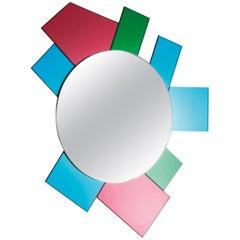 Dioniso6 Gli Specchi di Dioniso Wall Mirror, by Ettore Sottsass for Glas Italia
