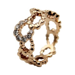 Dior Archi Pink Gold Diamond Ring