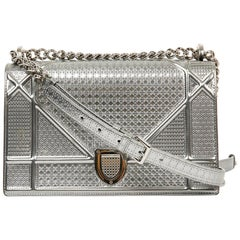 Dior Bag Diorama Silver