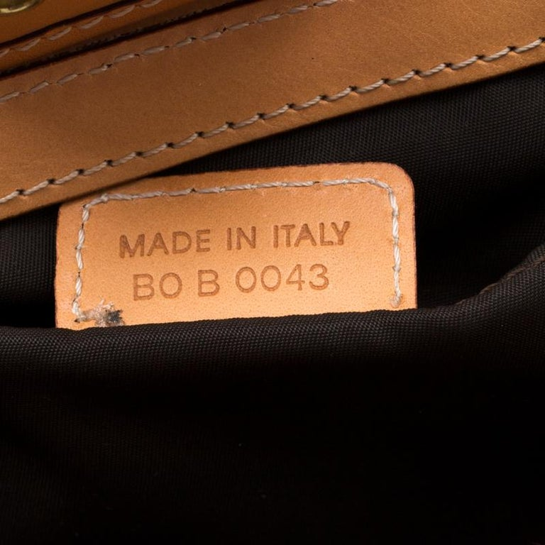 Dior Beige/Tan Oblique Canvas and Leather Street Chic Shoulder Bag 5