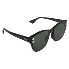 Dior Black Acetate DiorAddict3F Sunglasses