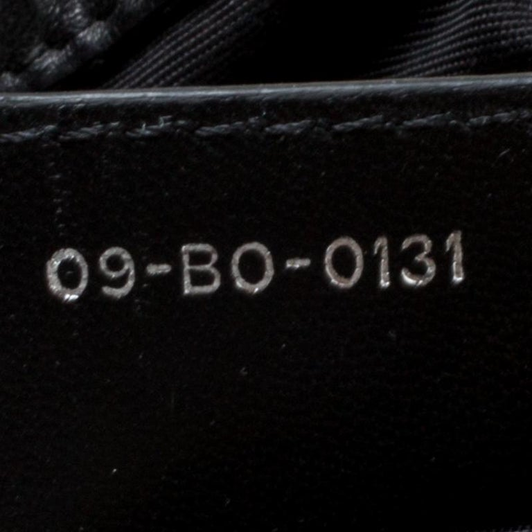 Women's Dior Black Cannage Leather Le Trente Hobo For Sale