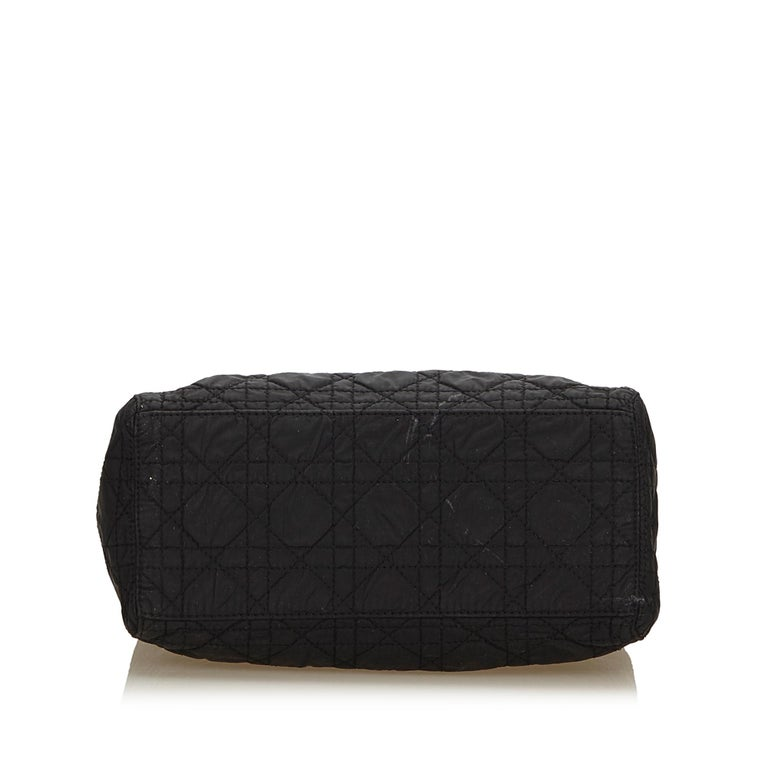c51c72b9217 Women s Dior Black Lady Dior Nylon Satchel For Sale