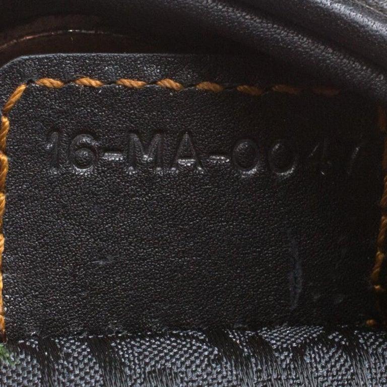 Dior Black Leather Gaucho Shoulder Bag For Sale 2