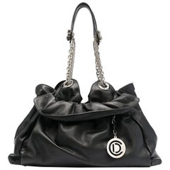 Dior Black Leather Handbag