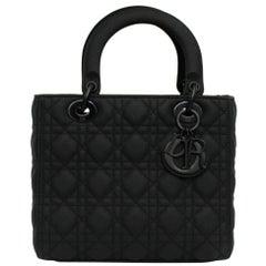 Dior Black Leather Lady Bag