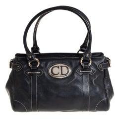 Dior Black Leather Satchel