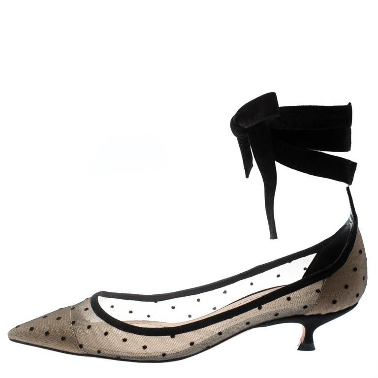 b5961ff3d6 Speak elegance with these pumps by Dior which are a dream worth owning.  Beautifully designed