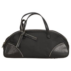 Dior Black Nylon Handbag