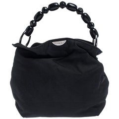 Dior Black Nylon Malice Hobo