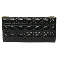 Dior Black Vernice Lady Bag