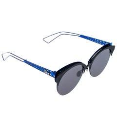 Dior Blue Tone/ Green G5V2K Diorama Club Cat Eye Sunglasses