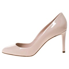 Dior Blush Pink Patent Leather Sublime Pumps Size 40