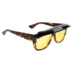 Dior Brown Havana DiorClub2 086HO Square Sunglasses