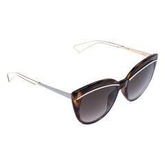 Dior Brown Ughma Cat Eye Sunglasses