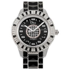 Dior Christal Stainless Steel Diamond Watch CD115511