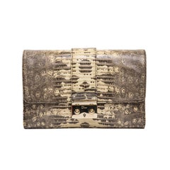 Dior Clutch in Water Snake Skin
