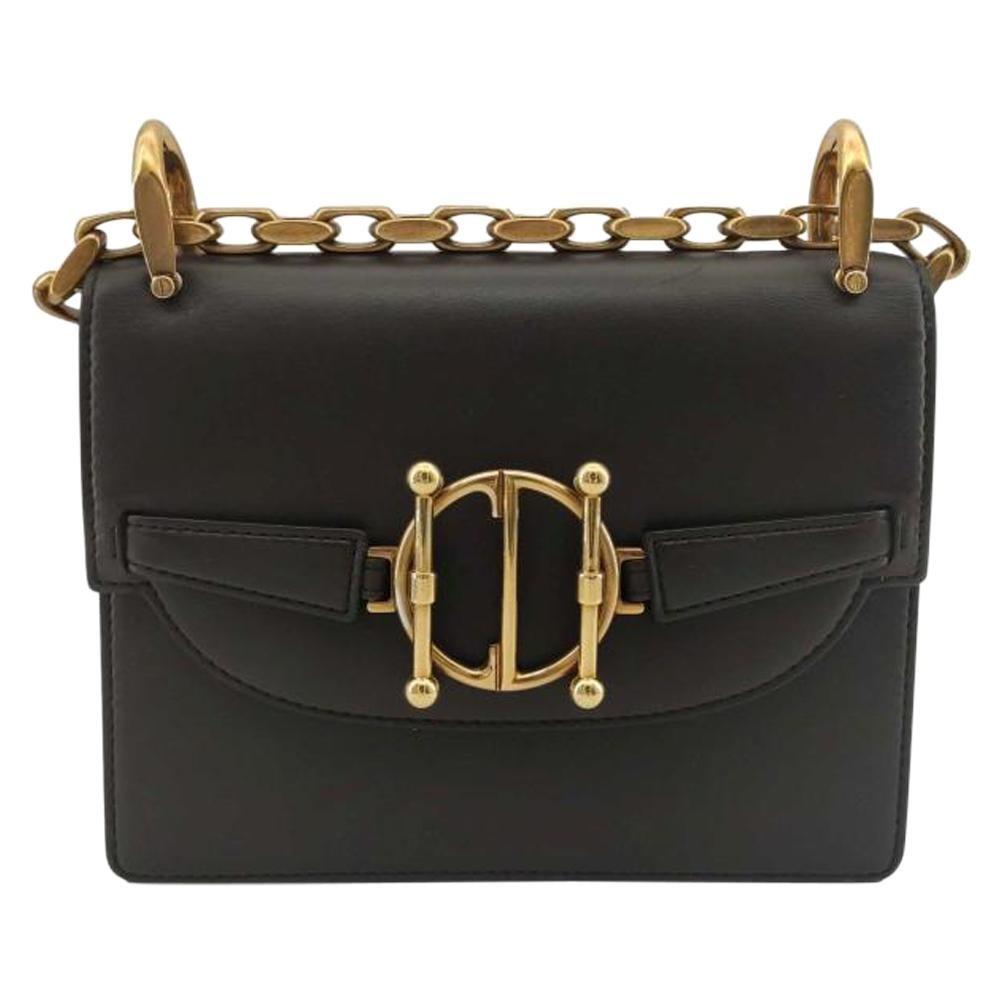 DIOR Direction Shoulder bag in Brown Leather