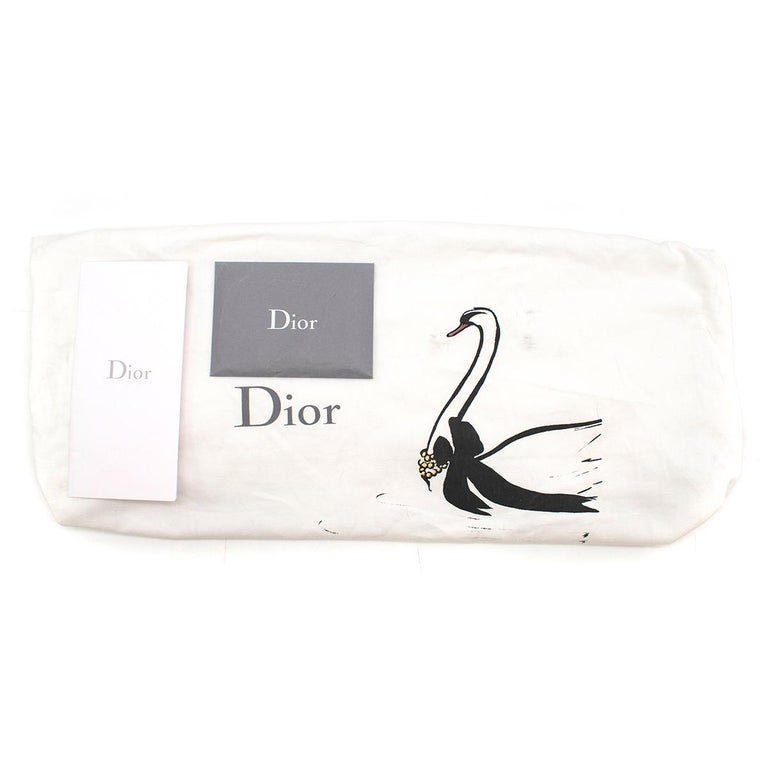 Dior Embroidered Canvas Book Tote Bag For Sale 4