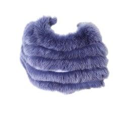 Dior Fox Fur Capelet