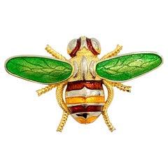 DIOR Gold Bee Brooch